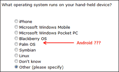 Image: Why not include Android in smart phone OS list?